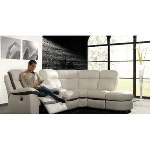 Meuble nevada achat vente meuble nevada pas cher for Nettoyage canape cuir blanc