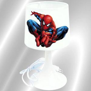 LAMPE A POSER SPIDERMAN -  - Lampe de chevet de création