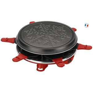 APPAREIL À RACLETTE MOULINEX - Raclette 6 c accessimo - RE160811