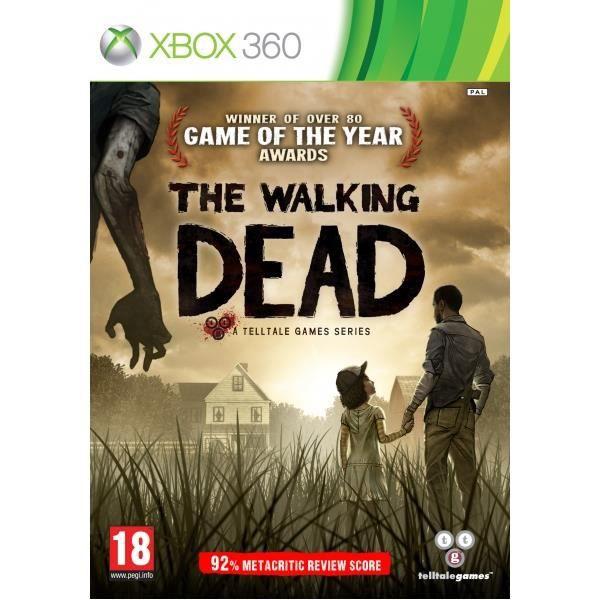JEUX XBOX 360 THE WALKING DEAD X360