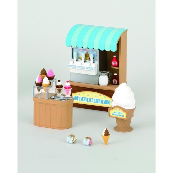 sylvanian family 2811 boutique pr sentoir glaces achat vente figurine personnage sylvanian. Black Bedroom Furniture Sets. Home Design Ideas