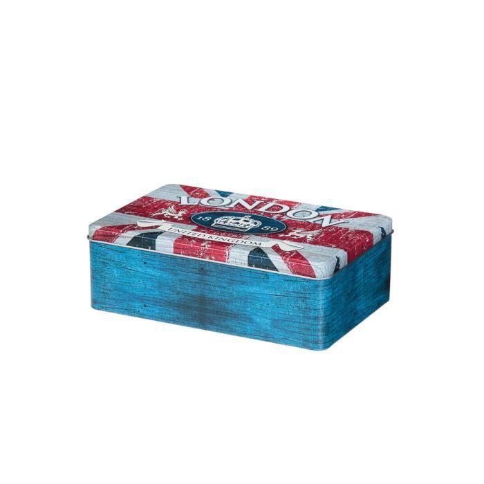 bo te sucre london achat vente boite sucre cadeaux de no l cdiscount. Black Bedroom Furniture Sets. Home Design Ideas