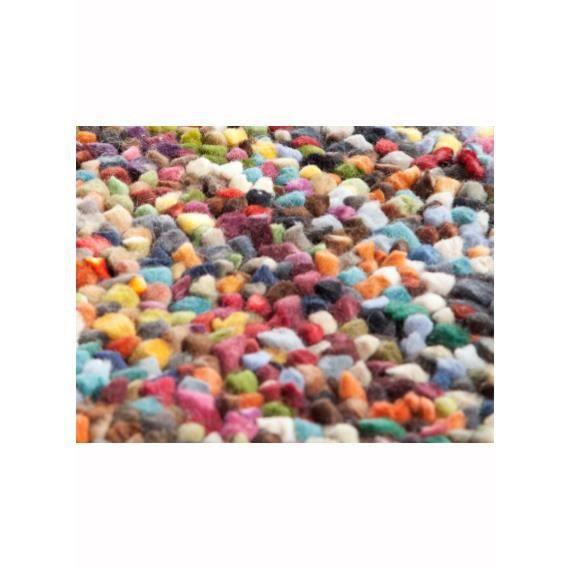 Grand tapis pour salon pixels multicolore 70x140 par - Grand tapis de salon ...
