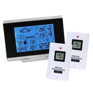 thermometre interieur exterieur achat vente thermometre interieur exterieur pas cher cdiscount. Black Bedroom Furniture Sets. Home Design Ideas