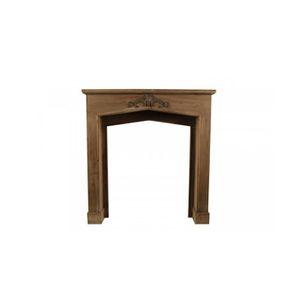 encadrement manteau cheminee 106x21x110cm achat vente manteau de chemin e encadrement. Black Bedroom Furniture Sets. Home Design Ideas