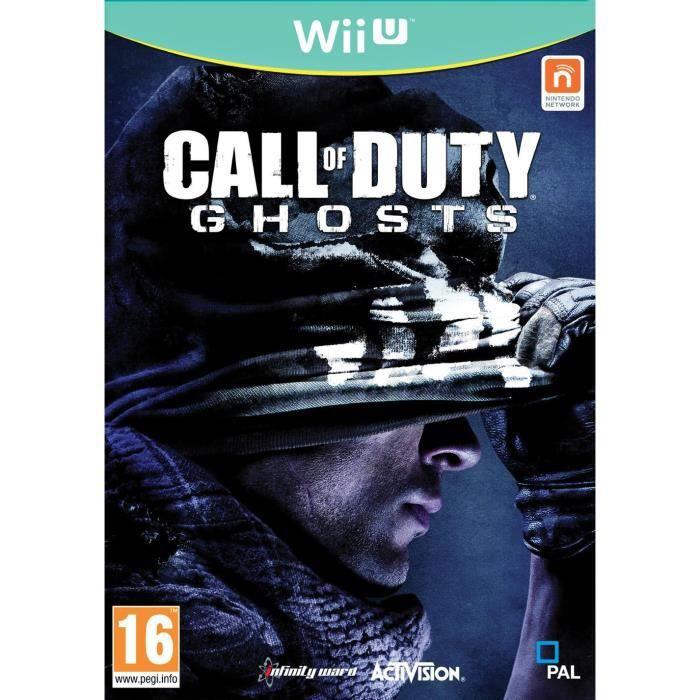JEUX WII U Call Of Duty Ghosts Jeu Wii U