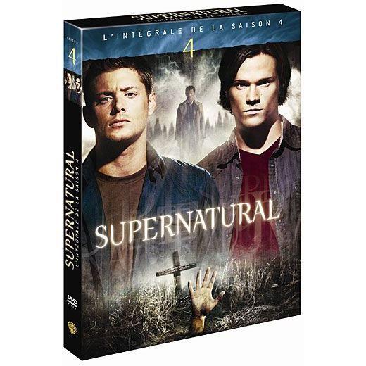 dvd series tv supernatural saison  f