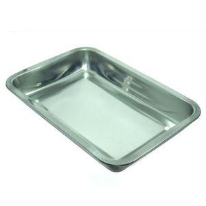 Plat rectangulaire inox achat vente plat rectangulaire for Plateau en inox cuisine