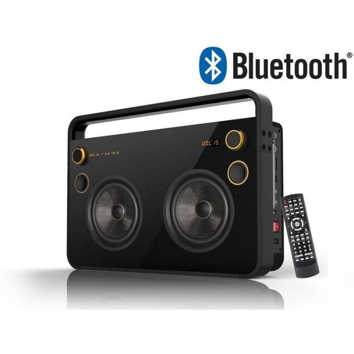 enceinte nomade jumbo bluetooth 60w radio. Black Bedroom Furniture Sets. Home Design Ideas