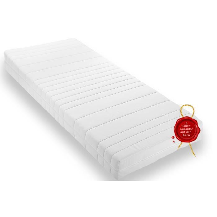 matelas purmed 140 fibres climatiques piqu 90 achat vente chambre compl te matelas. Black Bedroom Furniture Sets. Home Design Ideas