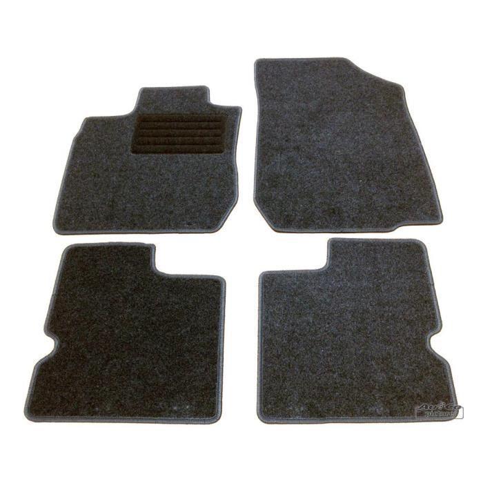 tapis de sol textile dacia logan logan mcv achat vente tapis de sol tapis de sol textile. Black Bedroom Furniture Sets. Home Design Ideas