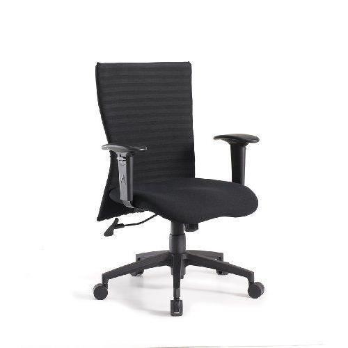 Easychair bern fauteuil de bureau noir achat vente for Bureau noir simple