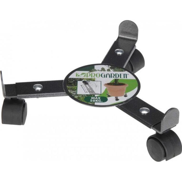 support pot fleur roulette. Black Bedroom Furniture Sets. Home Design Ideas
