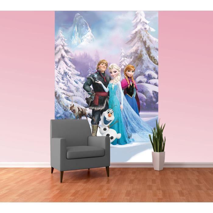 papier peint reine des neiges disney frozen l 1 achat. Black Bedroom Furniture Sets. Home Design Ideas