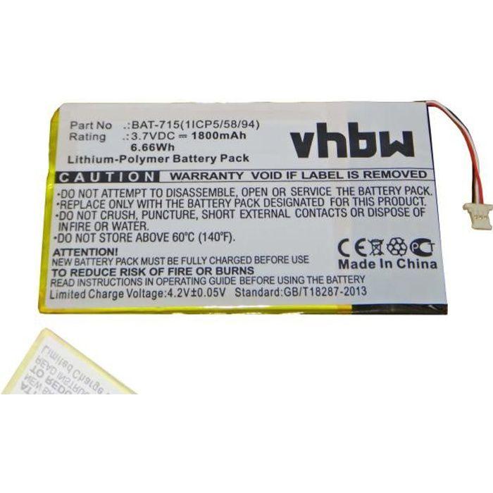 Batterie De Rechange Pour Tablette Tactile Acer A1 A1 810