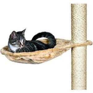 TRIXIE Nid XL pour arbre ? chat ? 45 cm beige peluche