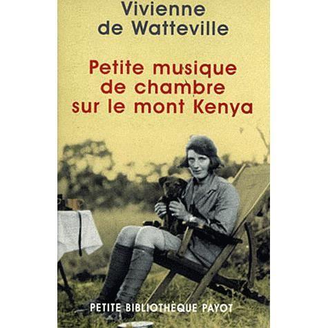 Petite musique de chambre sur le mont kenya achat for Bach musique de chambre