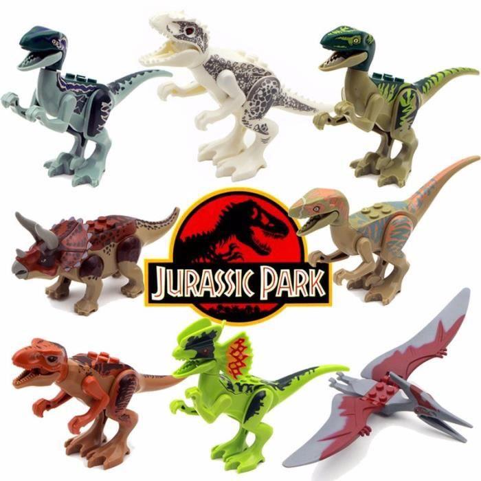 Jurassic park dinosaure jouet jurassic world dinosaure b timent bloque jouet achat vente - Dinosaure de jurassic park ...