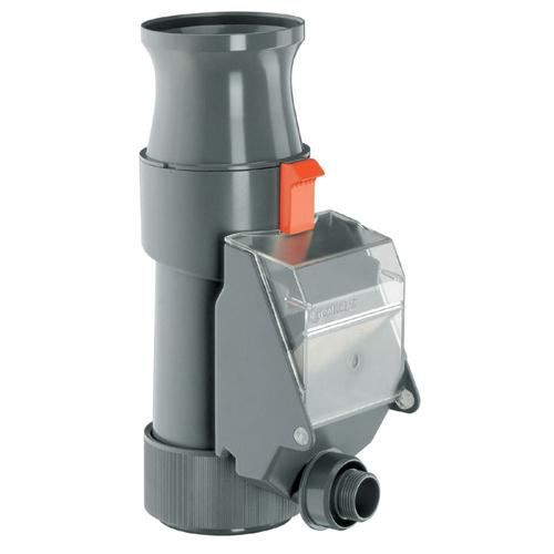Recuperateur filtre pour eau de pluie gardena achat for Utiliser l eau de pluie pour la maison