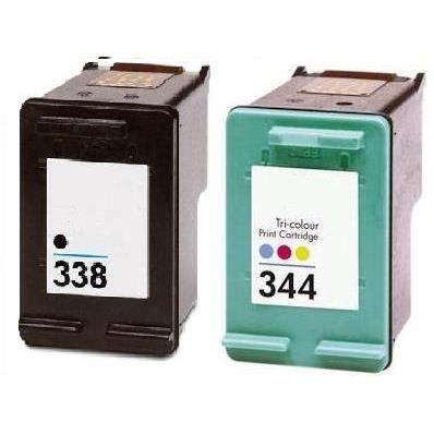 cartouches types hp 338 344 xl encre de france prix pas. Black Bedroom Furniture Sets. Home Design Ideas