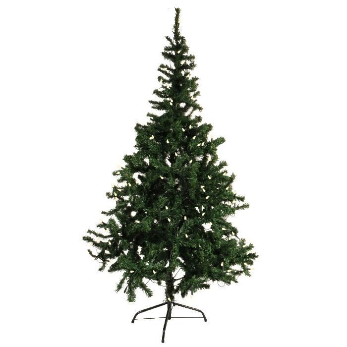 sapin de noel artificiel 100 led 150 cm achat vente sapin arbre de no l cdiscount. Black Bedroom Furniture Sets. Home Design Ideas
