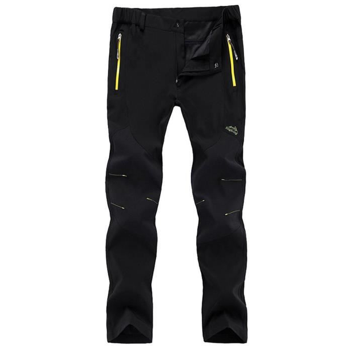 letgobuy femmes pantalon outdoor pantalon softshell pantalon randonn es hautement lastique pour. Black Bedroom Furniture Sets. Home Design Ideas