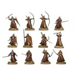 FIGURINE - PERSONNAGE Guerriers Galadhrim