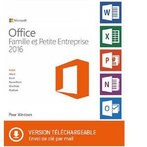 LOGICIEL À TÉLÉCHARGER Office Famille et Petite Entreprise 2016 - Version