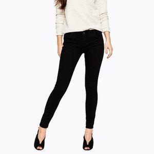 Pantalon femme slim femme achat vente pantalon femme slim femme pas cher cdiscount - Pantalon treillis noir femme ...