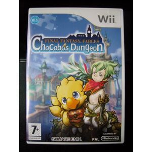 JEUX WII Final Fantasy Fables : Chocobos Dungeon