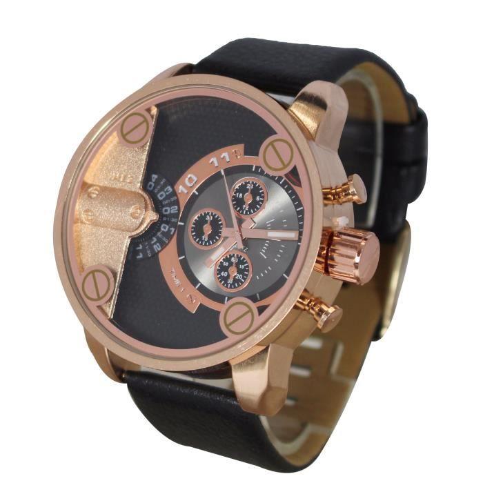 montre homme gros cadran double affichage gd only the brave achat vente montre montre homme. Black Bedroom Furniture Sets. Home Design Ideas