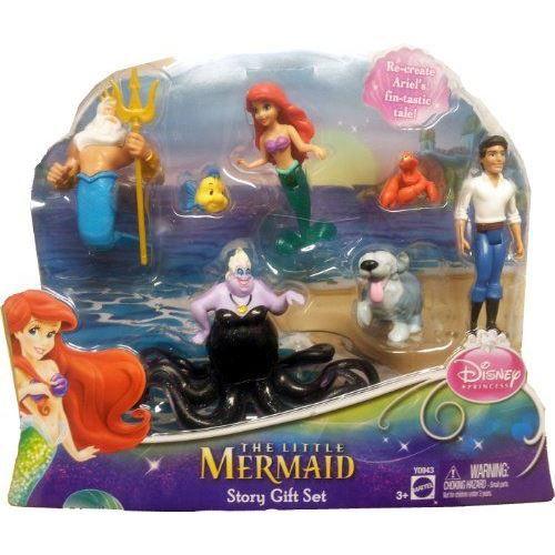Disney princesses y0943 figurine coffret achat vente figurine personnage cdiscount - Jeux de ariel et son prince ...