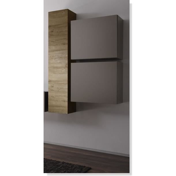 Meuble cubique taupe new box meuble house achat for Meuble house