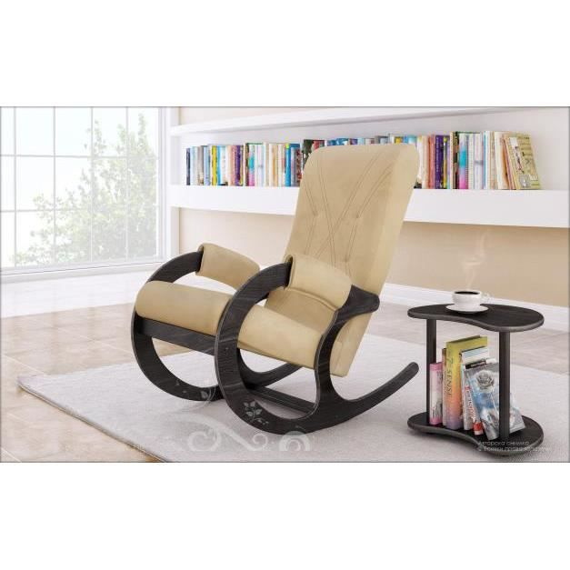 Rocking chair chaise a bascule et table d 39 appoint achat for Chaise d appoint pliante