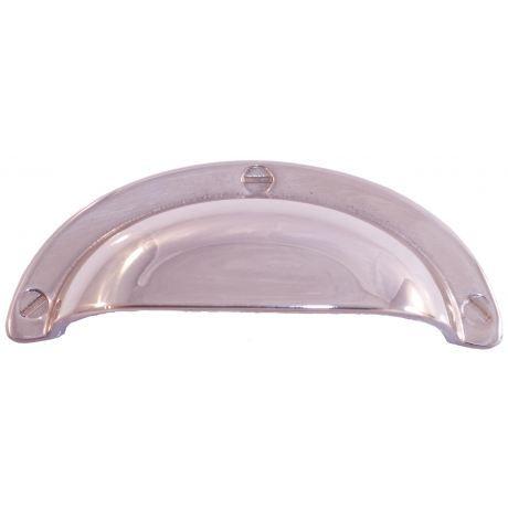 Poign e de porte ou tiroir de meuble laiton poli achat for Poignee de porte lapeyre