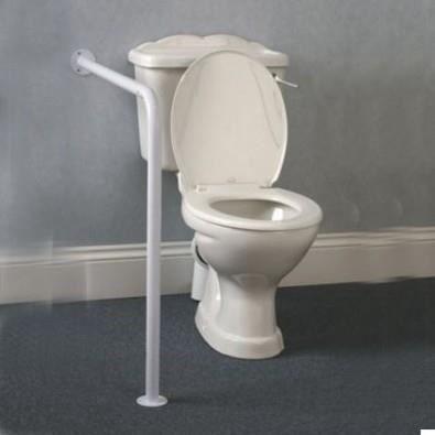 Barre d 39 appui mur sol pour wc achat vente maintien transfert barre d 39 appui mur sol pour wc - Barre de maintien salle de bain ...