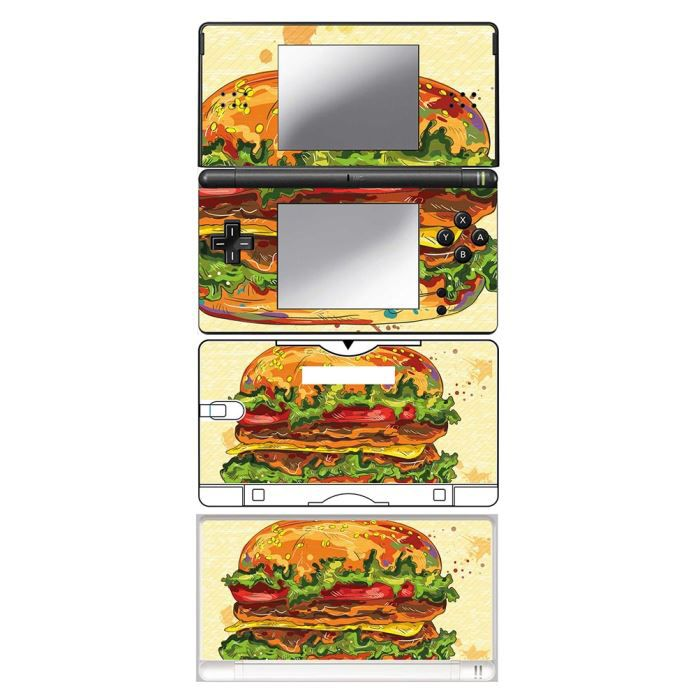 skin stickers pour nintendo ds lite sticker hamburger special achat vente protection. Black Bedroom Furniture Sets. Home Design Ideas