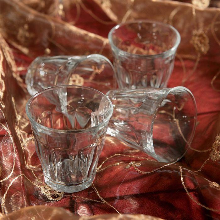 duralex picardie lot de 6 verres 9 cl achat vente mise en bouche cdiscount. Black Bedroom Furniture Sets. Home Design Ideas