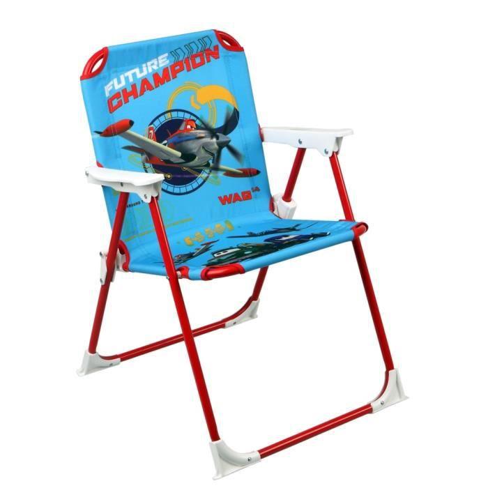 Chaise pliable pour enfant disney planes achat vente - Chaise enfant pliable ...