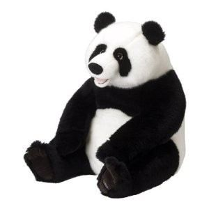 peluche g ante 80cm panda achat vente peluche cdiscount