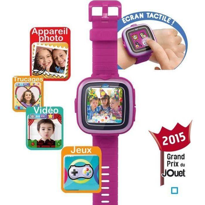 VTECH Kidizoom Smartwatch Connect Mauve - Achat / Vente appareil photo enfant - Cdiscount