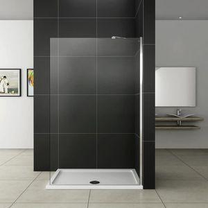paroi douche coulissante achat vente paroi douche coulissante pas cher cdiscount. Black Bedroom Furniture Sets. Home Design Ideas