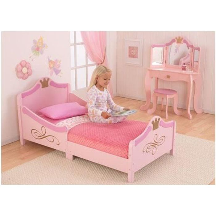 lit tra neau pour petite fille motif princesse achat vente lit b b 2009961510816 cdiscount. Black Bedroom Furniture Sets. Home Design Ideas