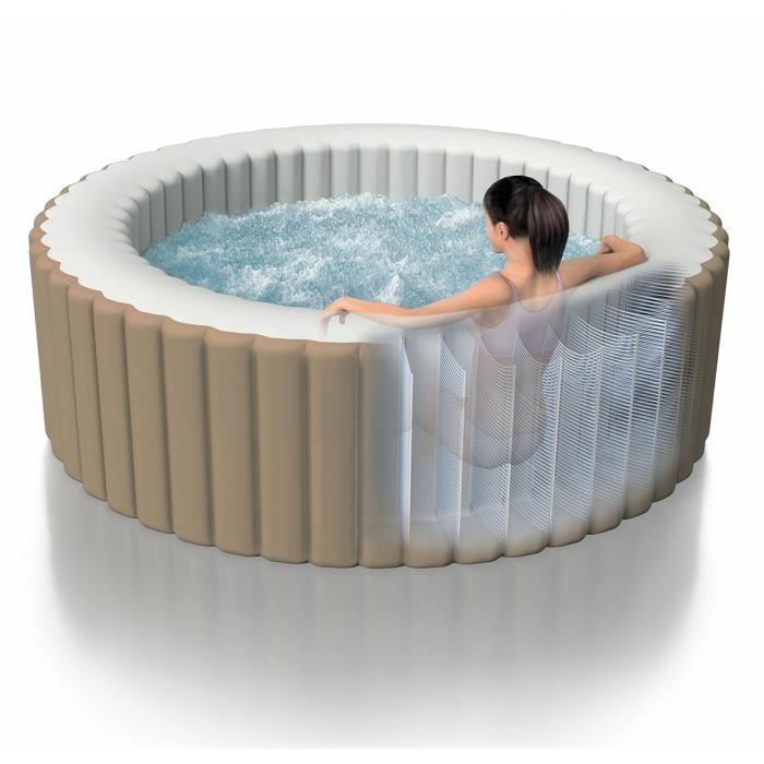 Spa gonflable intex 4 places achat vente spa complet kit spa spa gonfla - Destockage spa gonflable ...