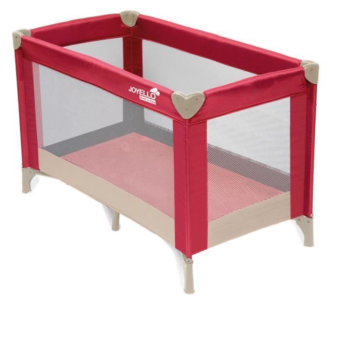 lit parapluie dormolo rouge jl 937r achat vente lit pliant 3760214082816 cdiscount. Black Bedroom Furniture Sets. Home Design Ideas