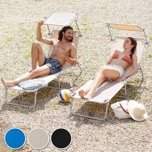 Chaise multi position achat vente chaise multi for Chaise longue avec pare soleil pas cher