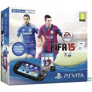 CONSOLE PS VITA Console PS Vita 2000+Coupon Jeu FIFA 15+CM 4 Go