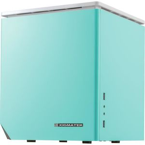 Xigmatek Boîtier PC Nebula C - Bleu - Cube
