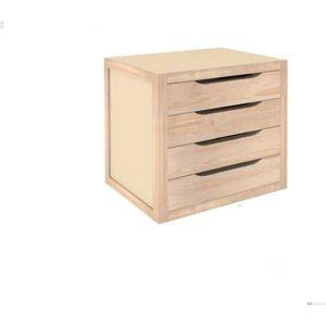 bloc tiroir en bois achat vente bloc tiroir en bois. Black Bedroom Furniture Sets. Home Design Ideas