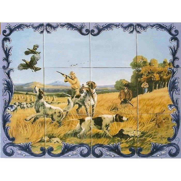 Panneau mural peint sur carreaux de faience ma achat - Panneau a coller sur carrelage ...